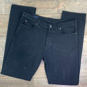 Ermenegildo Zegna Sport Regular Fit Black Jeans